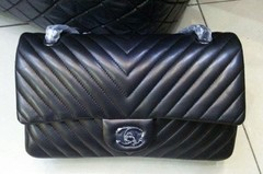 Bolsa Chevron All Black Jumbo - Italiana - comprar online