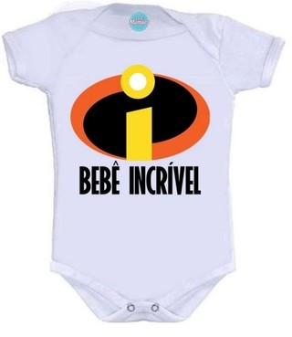 Body Infantil -  Bebe Incrivel  Pronta Entrega