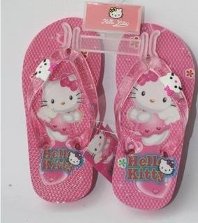Chinelo Infantil Hello Kitty. Pronta Entrega!