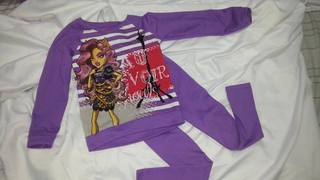 Conjunto Infantil Monster High. Pronta Entrega!
