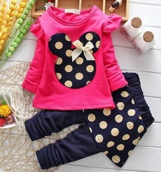 Conjunto Infantil Minnie New Pronta Entrega