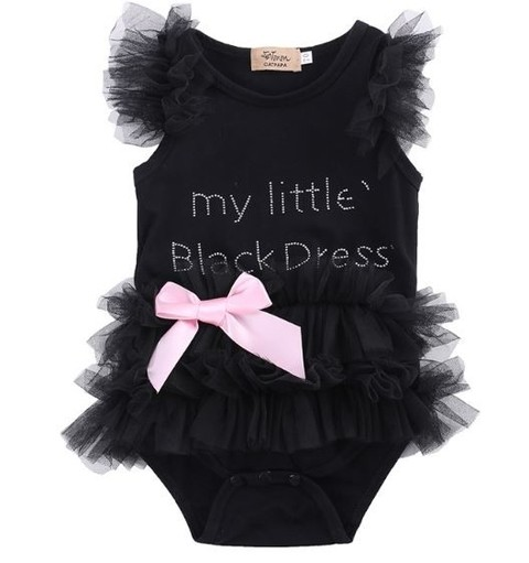 Body infantil Black Pronta Entrega