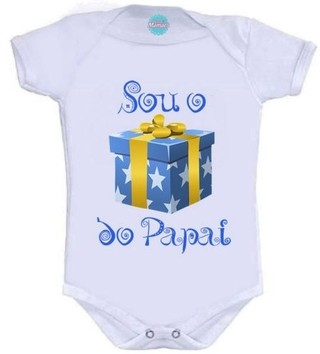 Body Infantil-Sou o Presente do Papai.  Pronta Entrega