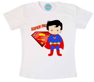 Camiseta Papai - Super Pai  Pronta Entrega