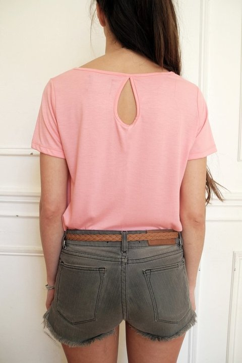 REMERA MADE - CRUDO/CORAL/ROSA/CELESTE