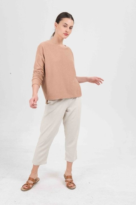 SWEATER TILO CAMEL