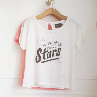 REMERA MADE - CRUDO/CORAL/ROSA/CELESTE - SHOP - VERO FOREST