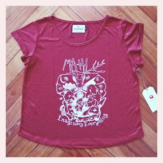 REMERA MATH BORDO - comprar online