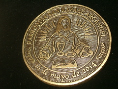 Moneda de metal Christ