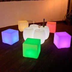 Asiento Puff Cubos Led Inalambrico en internet