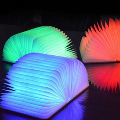 Lampara Libro Led USB Multicolor Decoración en internet