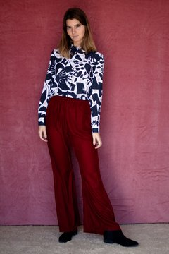 Pantalon Felpa Bordeaux