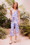 Sena Jumpsuit Blue