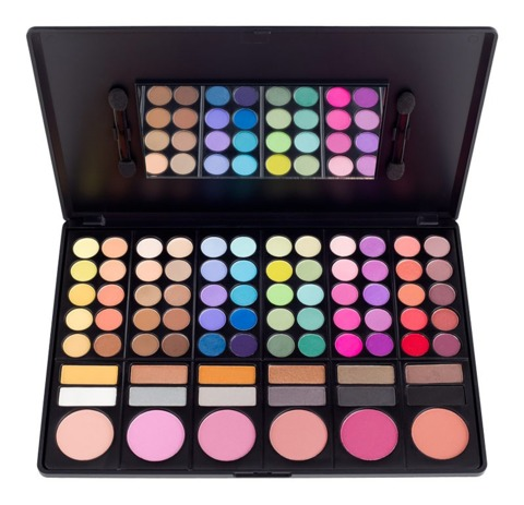 COASTAL SCENTS - SHADOW & BLUSH PALETTE - PL-003