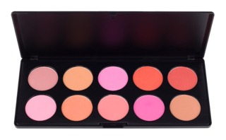 COASTAL SCENTS - 10 BLUSH PALETTE - PL- 012