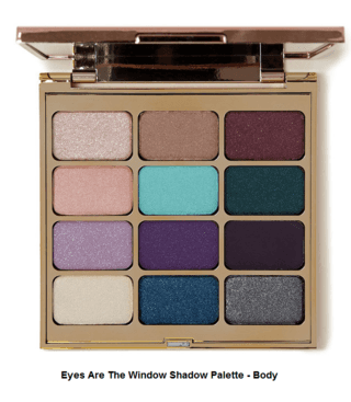 STILA ARE THE WINDOW SHADOW PALETTE - BODY