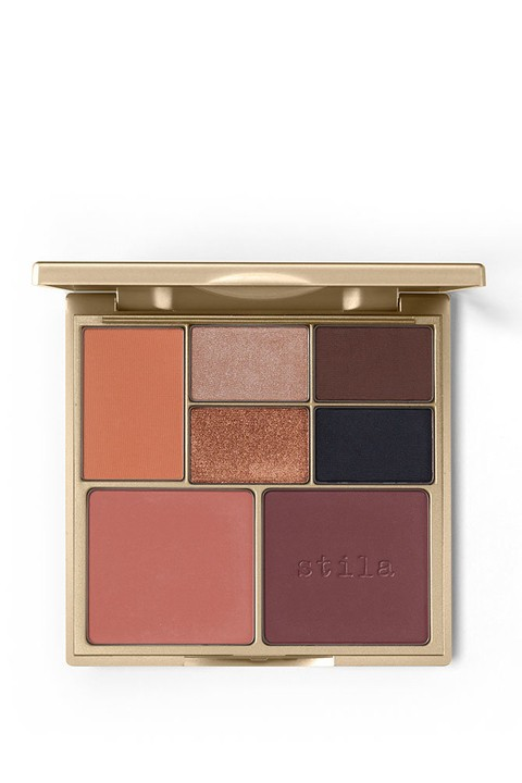 STILA PERFECT ME  HUE CHEEK PALETTE - TAN DEEP