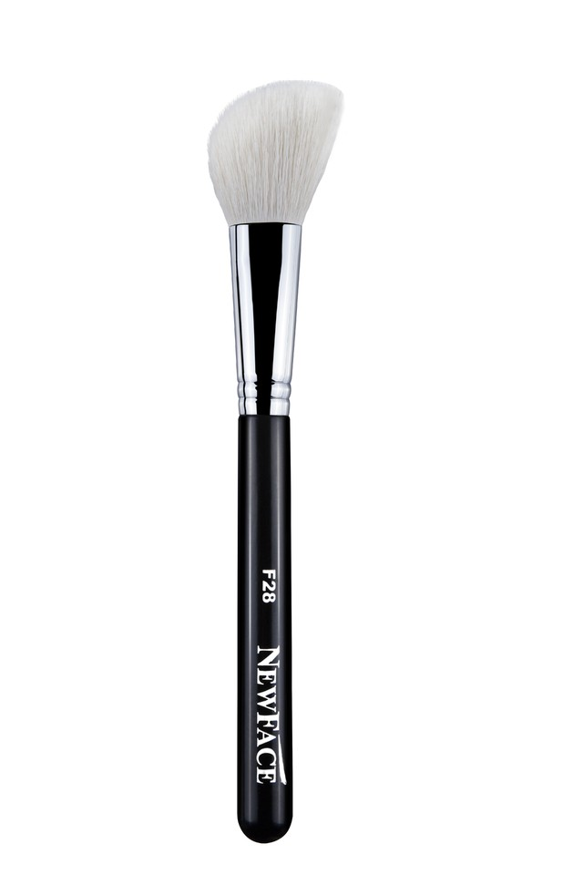 NEWFACE BRUSHES®  LARGE ANGLED CONTOUR BRUSH - F28