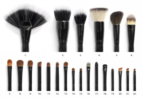 COASTAL SCENTS - KIT COM 22 PINCÉIS BRUSH SET - 011