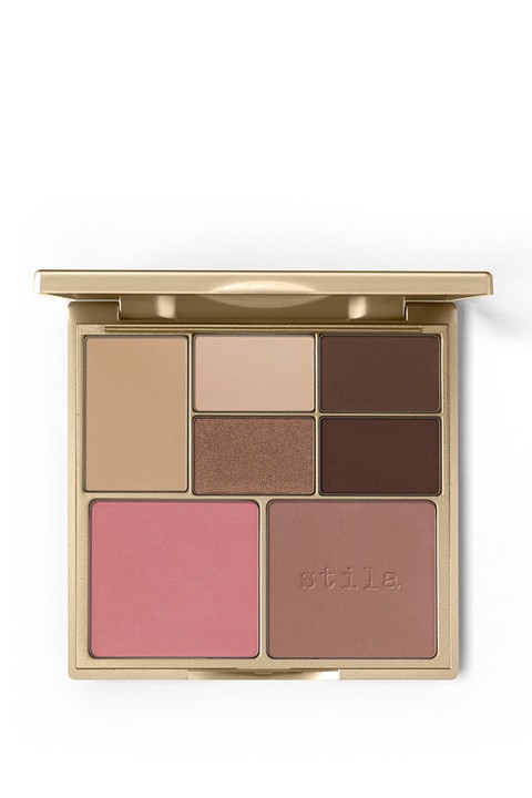 STILA PERFECT ME HUE CHEEK PALETTE - LIGHT MEDIUM