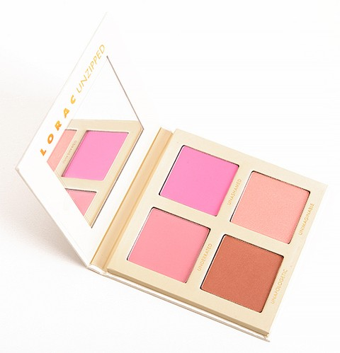 LORAC ONLINE ONLY UNZIPPED CHEEK PALETTE  (super desconto de 40%)