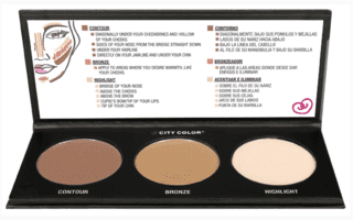 CITY COLOR - CONTOUR  EFFECTS PALETTE 2