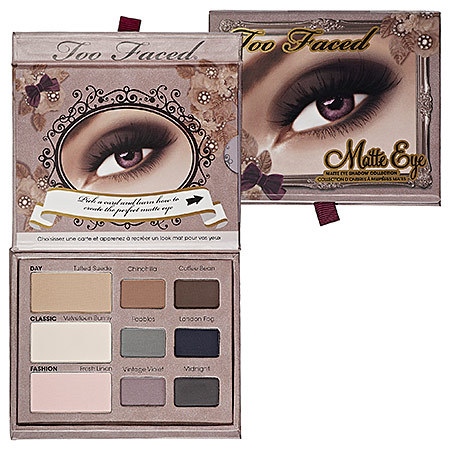 TOO FACED - MATTE EYE  (super desconto de 20%)