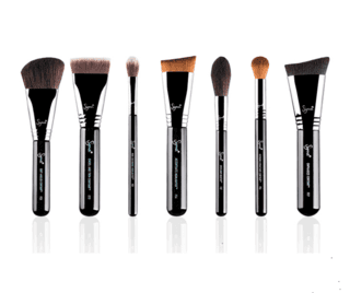 SIGMA® - HIGHLIGHT AND CONTOUR BRUSH SET COM 7 PINCÉIS
