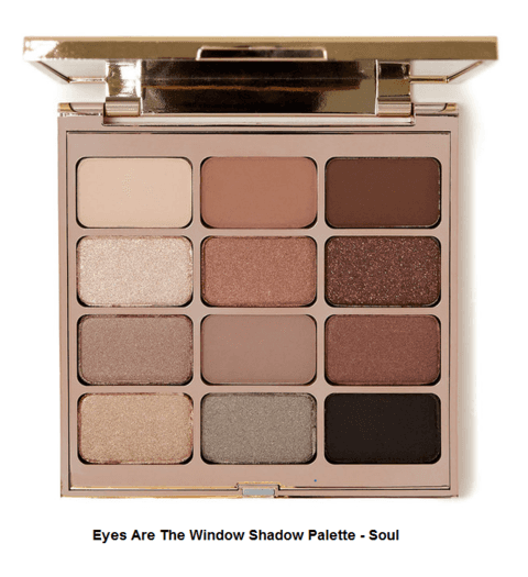 STILA ARE THE WINDOW  SHADOW  PALETTE - SOUL