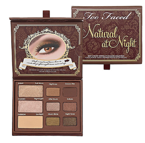 TOO FACED - NATURAL AT NIGHT  (super desconto de 20%)