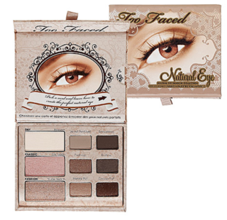 TOO FACED - NATURAL EYE (super desconto de 20%)