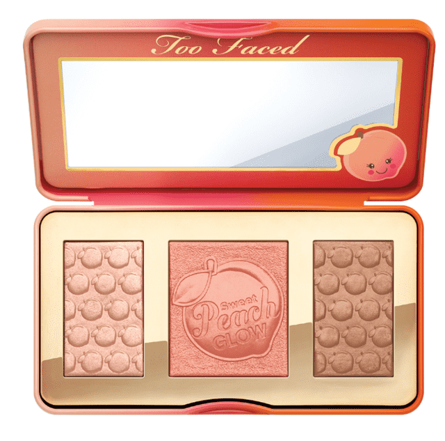 TOO FACED - SWEET PEACH GLOW PEACH-INFUSED HIGHLIGHTING PALETTE