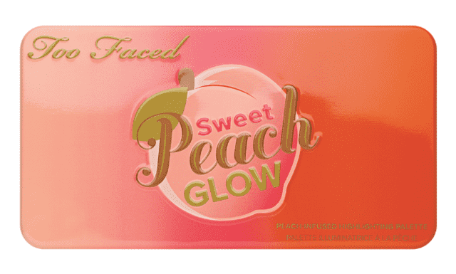 TOO FACED - SWEET PEACH GLOW PEACH-INFUSED HIGHLIGHTING PALETTE na internet