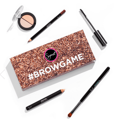 SIGMA® - BROWGAME KIT MAKEUP  (super desconto de 30%)