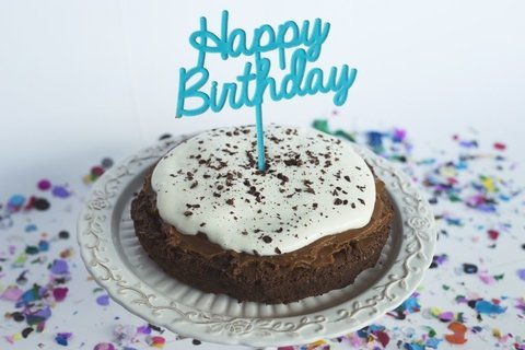BIG cake toppers: Happy Birthday + estrella - comprar online