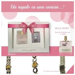 SET REGALABLE WILD SPIRIT MUJER + RELOJ (cod: SET-W)