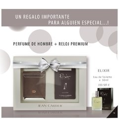 SET REGALABLE ELIXIR MASCULINO + BILLETERA - comprar online