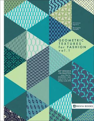 Geometric Textures for Fashion - Vol. 1 - inclui DVD