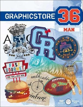 Graphicstore Man - Vol. 36  - inclui DVD