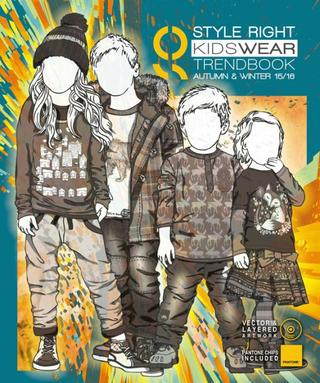 Style Right Kid's Trend Book - Autumn/Winter 2015-16 - incl. DVD