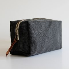 Necessaire Fresia Panama Gris oscuro - comprar online