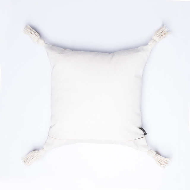 Cafayate Cushion, pearl grey with white stars - buy online
