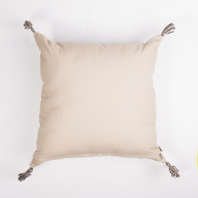 Humahuaca Cushion, ecru with cooper stars - buy online