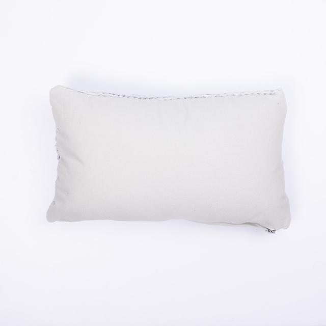 Nara Cushion, pearl grey cable stitch - buy online