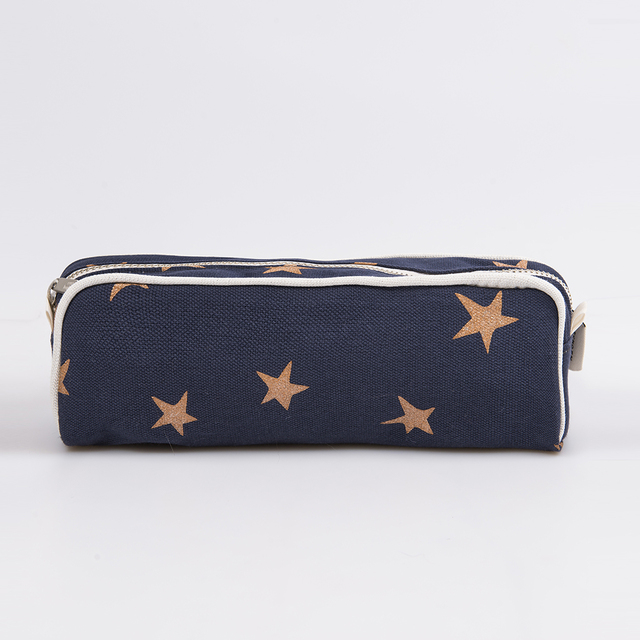 Angastaco Pencil case, blue with cooper stars - buy online