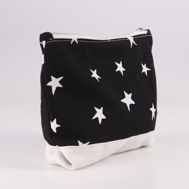 Petra Pouch, black with white stars - buy online