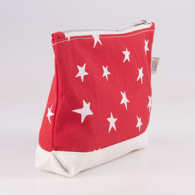 Petra Pouch, red with white stars - buy online