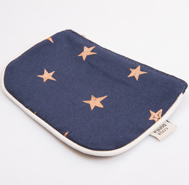 Susques Purse, blue with cooper stars - buy online