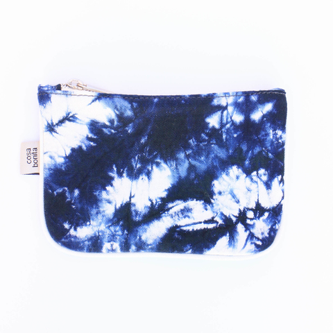 Monedero Susques Batik Azul
