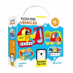 Puzzle Pairs Vehicles Age 18m+ Puzzle